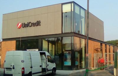 NOVI DI MODENA (ITALY) - UNICREDIT BANK AGENCY - TERRA+GIOVE SYSTEM