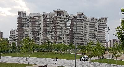 MILANO CITYLIFE - RESIDENZE LIBESKIND - SISTEMA FRANGISOLE